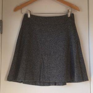 Charcoal Grey Flippy Skirt